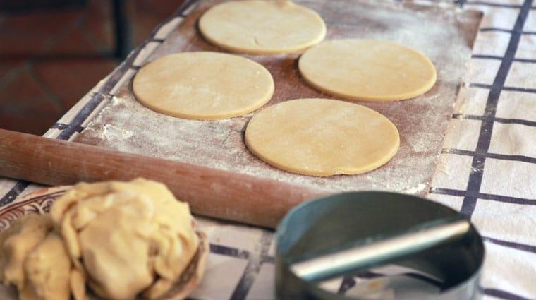 Abaisse pâte à gateau basque