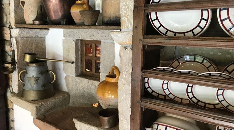 Objets du musée du gâteau basque Sare