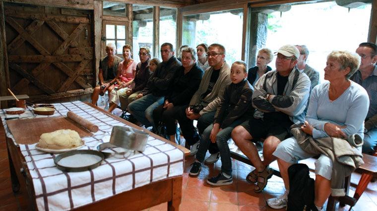 Visite découverte au musée du Gateau basque à Sare